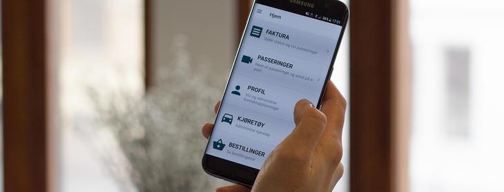 app for avtalekunder