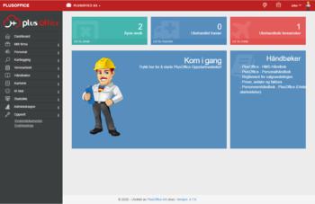PlusOffice skjermdump