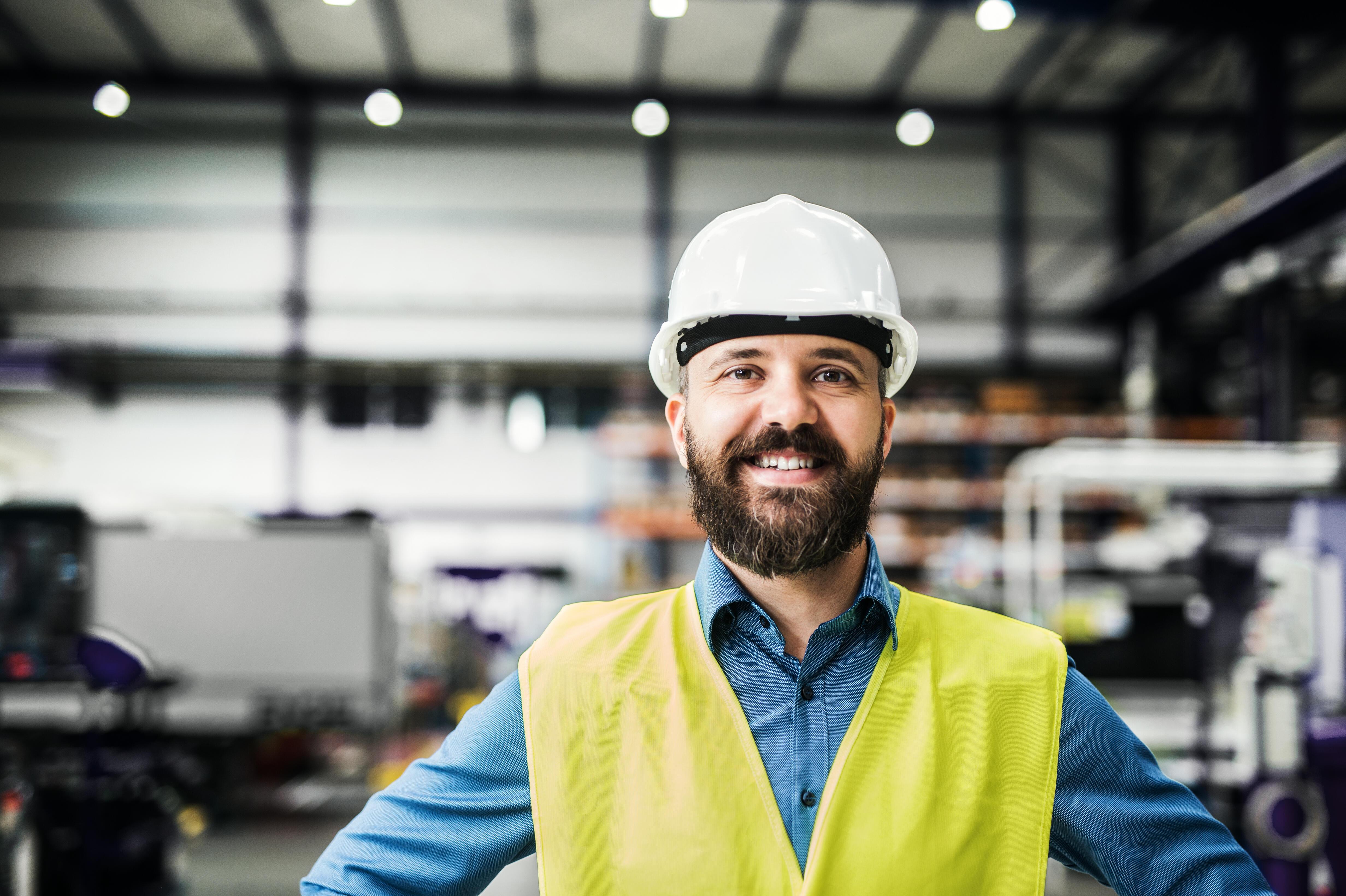 I industribedrifter er sikkerheten ekstra viktig